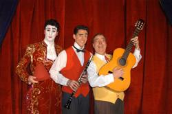 El Trio de Pallassos Massot actuaran al proper Festival del Circ de Montecarlo