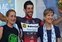 Joan Font es va endur la primera posició en aquesta cursa amb participació de ciclistes de tot l'estat