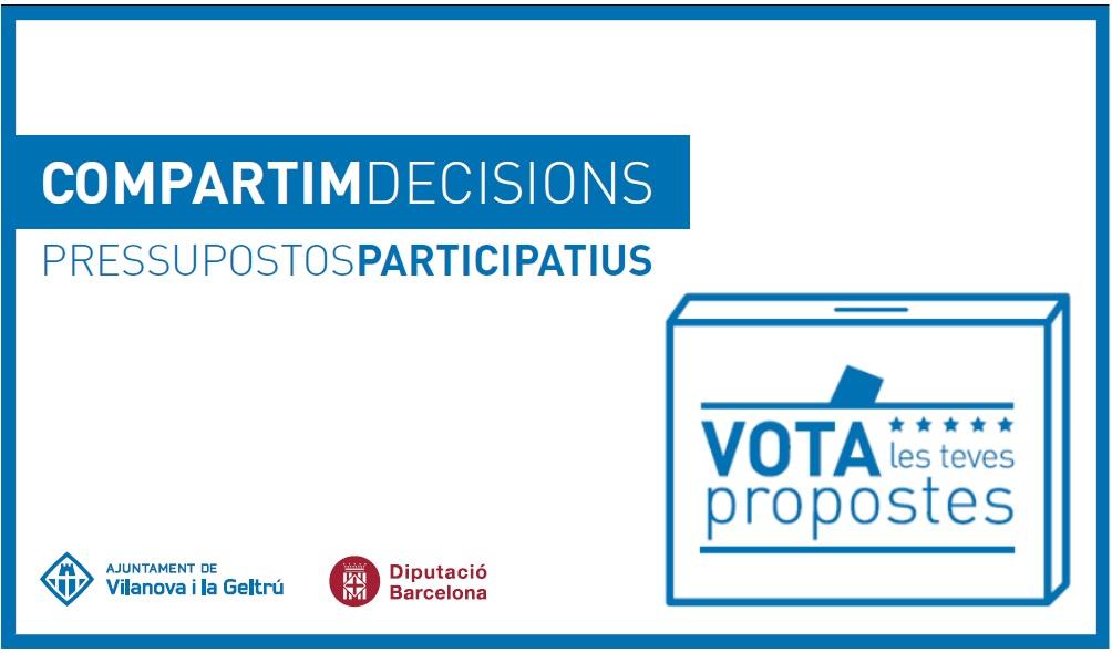 votació pressupostos participatius