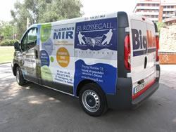 Nou minibús per a actes de promoció de la ciutat