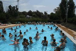 Les piscines del CEM Parc del Garraf i de l'Esportiu la Piscina es van unir a la festa