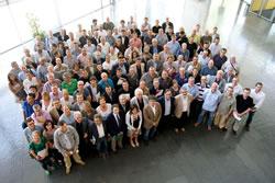 Fotos d'alcaldes en l'anterior assemblea general a Girona (AMI)