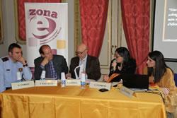 D'esquerre a dreta: Òscar Torres, Jordi Balcells, Joan Gómez, Ariadna Llorens i Núria Esacalona