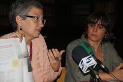 Montserrat Comas i Marijó Riba, aquest matí