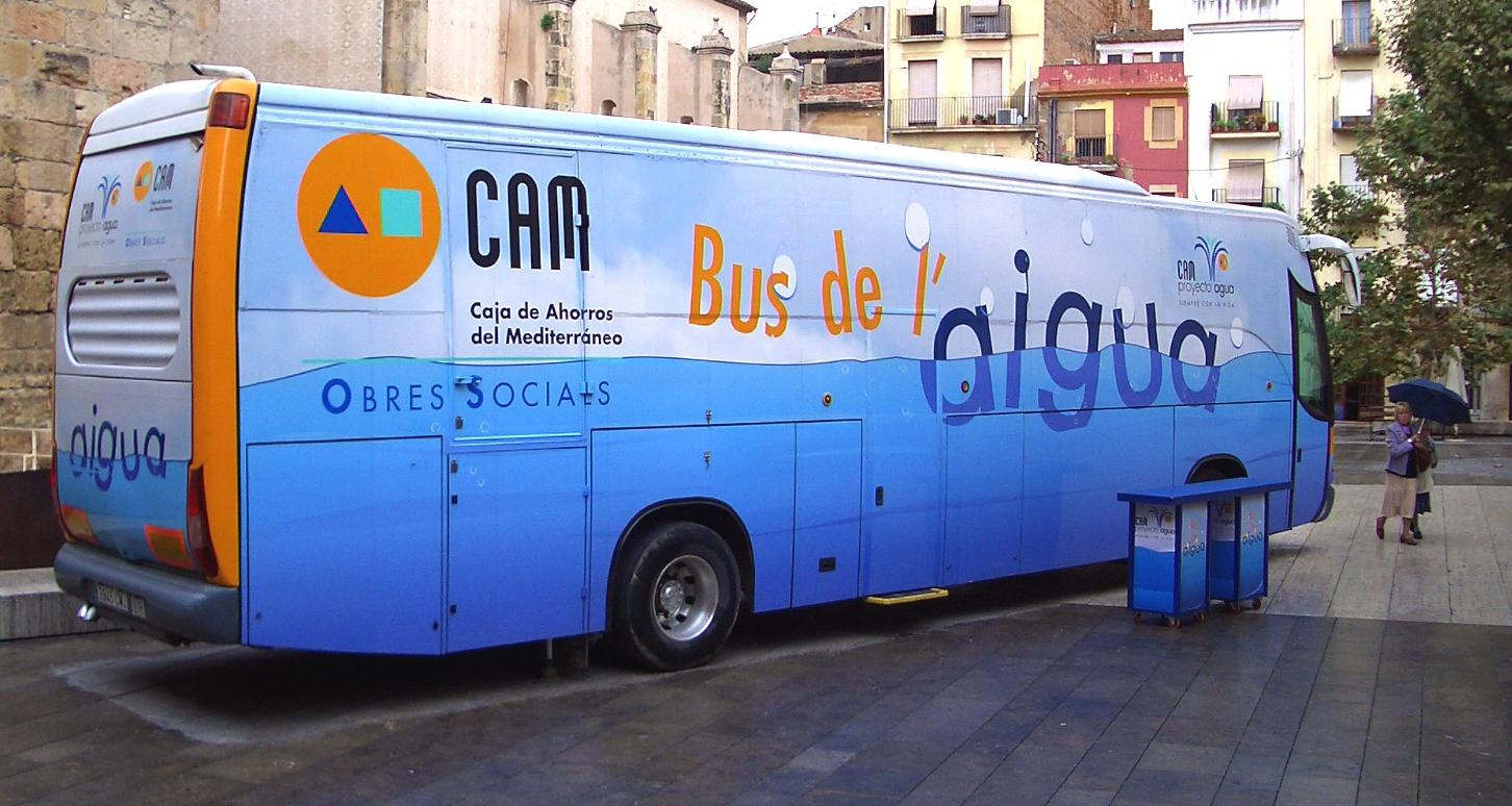 El Bus de l'Aigua visitarà VNG
