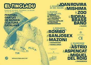 El Tingladu se celebrarà a la plaça de les Neus del 23 al 26 de juliol