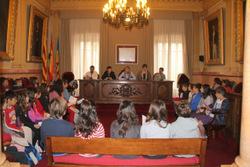 La jornada de cloenda s'ha fet al saló de plens de l'Ajuntament