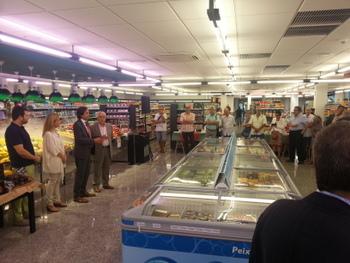 Acte inaugural del nou supermercat