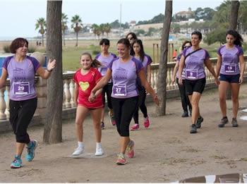 4 milles femenines caminada
