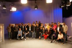 L'equip humà que fa possible la programació de Canal Blau