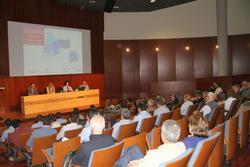 La presentació es va dur a terme a l'auditori de Neàpolis