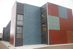 Nou edifici de l'Institut Baix-a-Mar