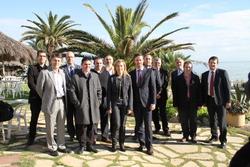 Trobada amb representants de diferents empreses locals