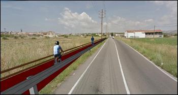 Proposta de carril bici a la carretera de l'Arboç