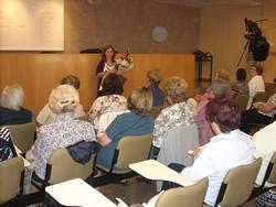 El Grup Dones amb Memòria va cloure el taller 'La Història a les nostres mans'