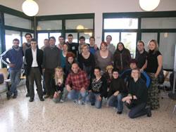 Els assistents al curs sobre participació juvenil del CUM