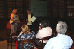 La trobada s'ha celebrat a la Biblioteca-Museu Víctor Balaguer