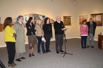 Presentació de les exposicions d'homenatge a Alexandre de Cabanyes