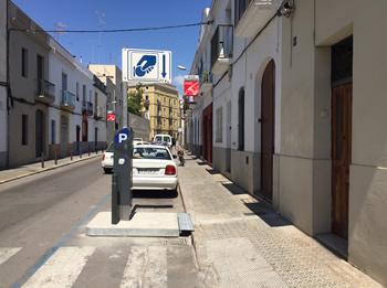 S'han reubicat els parquímetres del carrer de la Unió