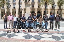 La presentació de la Fira es va fer a la plaça de la Vila amb una petita mostra de cotxes clàssics i aeromodelisme