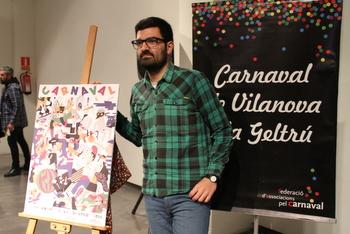 L'autor del cartell amb el programa