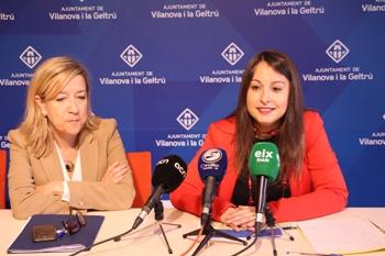 La regidora de Salut, Gisela Vargas, ha fet balanç en roda de premsa