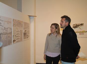 L'alcaldessa, Neus Lloveras i el regidor, Joan Giribet han estat veient totes les idees presentades