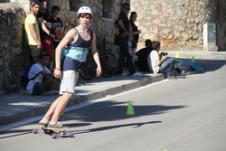 Competició de longboard