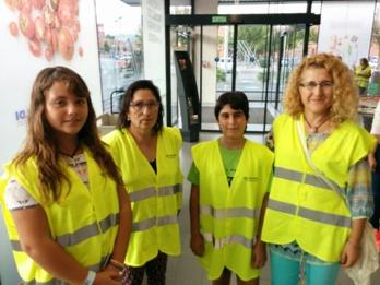 Els voluntaris, de totes les edats, són una part fonamental del recapte