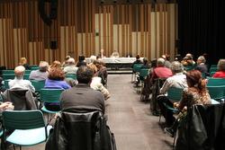 La sessió es va fer a l'Auditori Eduard Toldrà