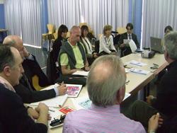Els representants de Mérignac es van reunir amb les entitats esportives de la ciutat