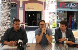 José Manuel Pereira, Carlos Díaz i Gerard Figueras