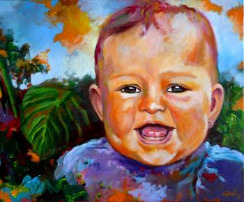 Un dels retrats que es podrà veure a la Joan Oliva