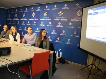 El document per participar online s'ha presentat en roda de premsa