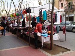 El mercat ambulant de Mar