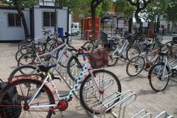 El Bicipark es va inaugurar oficialment a mitjans d'abril