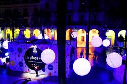 Plaça de la Vila. Foto cedida per Saladie Llums