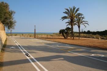 accés platja del far