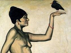 Tòrtola València, pintada per Rafael Sala l'any 1915