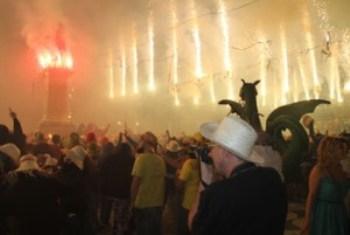 El Correfoc és un dels actes més esperats de la Festa Major