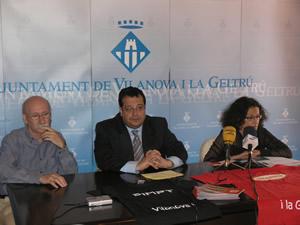 Roda de premsa de presentació de Trapezi 2007