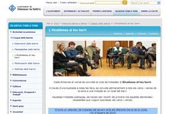 Les relacions entre Ajuntament i ciutadania, al nou espai web