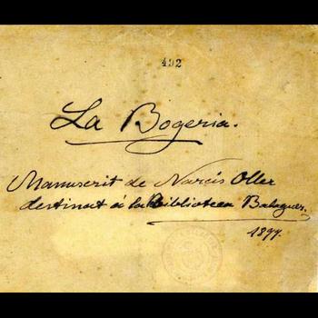 La Bogeria és una de les obres més conegudes de Narcís Oller