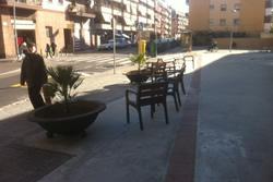 Actuació al carrer de Josep Coroleu