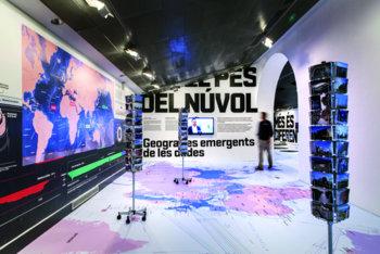La mostra serà fins al 30 d'abril al Centre d'Art Contemporani La Sala