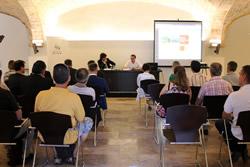 La presentació de les accions de millora es va fer a la Masia en Cabanyes