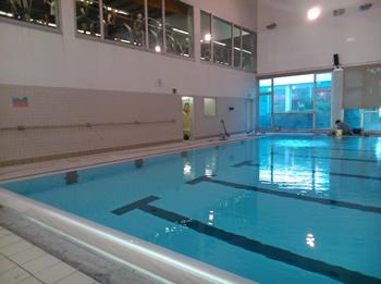 La piscina interior reobrirà la setmana vinent