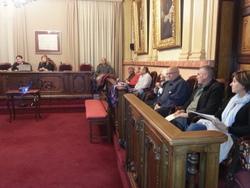 El Consell es va fer al saló de Plens