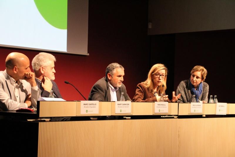 Acte a l'auditori del Vinseum de Vilafranca del Penedès