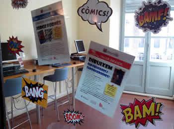 La biblioteca dedica el juliol al món del còmic i els súperherois